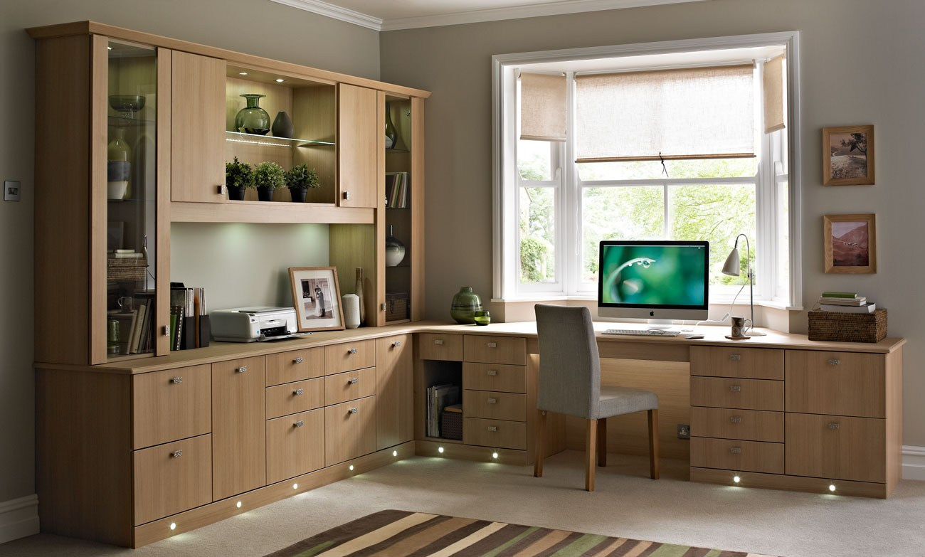 10 inspiring home office designs that will blow your mind for Floor decoration ideas office